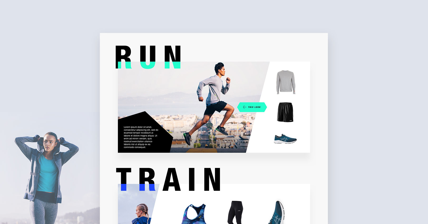 ASICS Fitness Explorer Launch